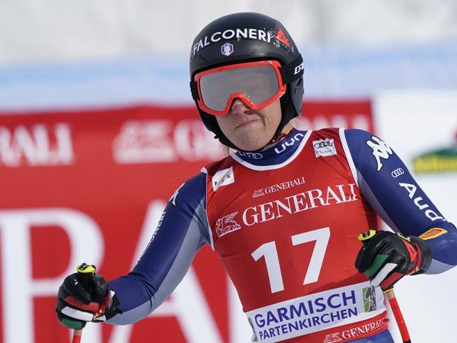 Sofia Goggia misses the Cortina World Cup.  Right knee fracture in Garmisch's fall- Corriere.it