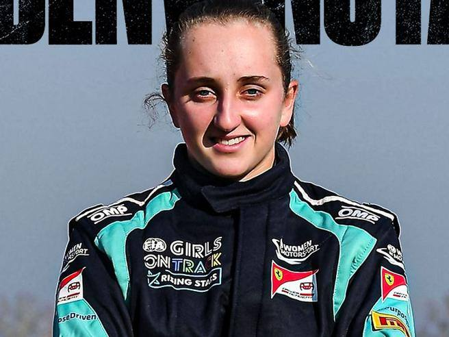 Maya Weug is the first female Ferrari driver, joins the Academy- Corriere.it