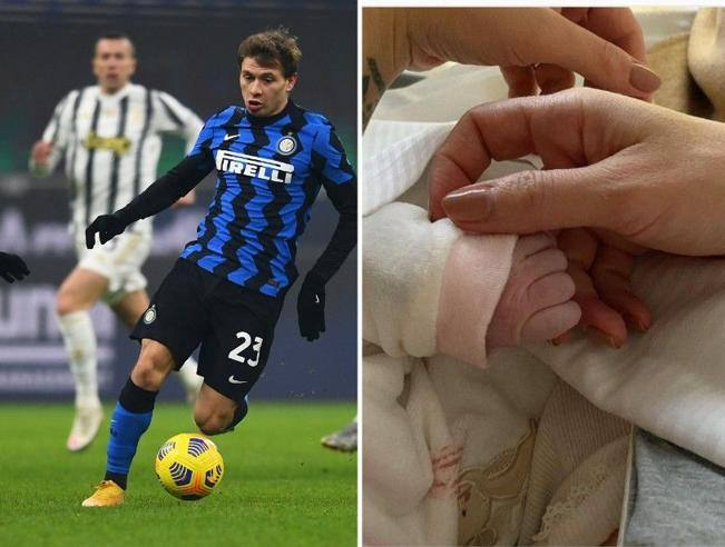 Inter, Barella father for the third time: Matilde- Corriere.it was born