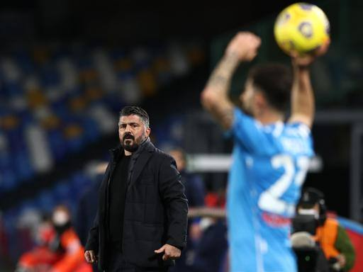 Coppa Italia, Gattuso finds the reaction and the semifinal: «Confidence?  I work sweating blood ""