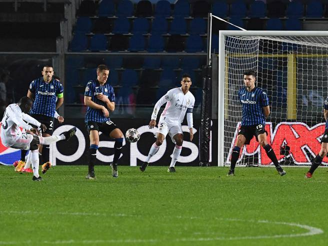 Atalanta-Real Madrid 0-1, Mendy only in the final turns off the Lombard resistance in 10 for 70 '- Corriere.it